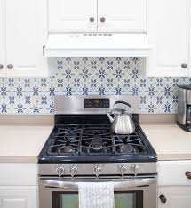 Removable Wallpaper Tiles Kitchen