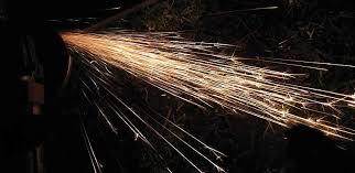 Metal Spark Test Chart Metal Spark Spark Testing Of Metals Poster Metal Sparklers