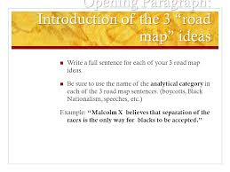 dbq essay tips these tips can apply to all types of expository  opening paragraph introduction of the 3 road map ideas write a full sentence for each