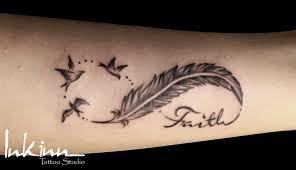Feather Infinity Tattoo Google Search тату татуировка перо