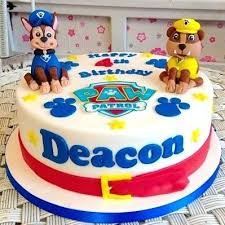 Boy Birthday Cakes 2 Tier Fondant Kids Boy Birthday Cake From