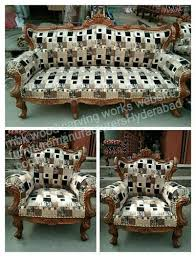 new hand carving wooden sofa set