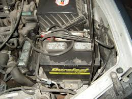 need to replace a positive battery cable nissan forums nissan forum Nissan Altima SE at 01 Altima Removing Fuse Box