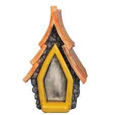 fairy garden polyresin dog house