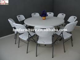 modern designed 5ft folding round table for 8 10 people whole throughout 5ft round table ideas