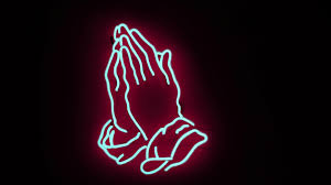 1920x1080 neon, hands, prayer desktop ...