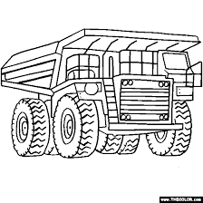 Small Picture Dump truck coloring pages dump truck coloring page free download