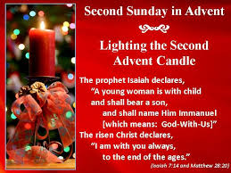 Image result for 2nd sunday of advent 2017