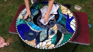 Stained Glass Coffee Table Stained Glass Coffee Table Youtube