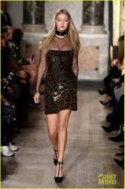 Gigi Hadid & Karlie Kloss Walk Emilio ...