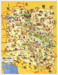 reminder two beautiful posters can still be yours arizona Travel Map Of Arizona travel maps · reminder two beautiful posters can still be yours arizona highways travel map of arizona and utah