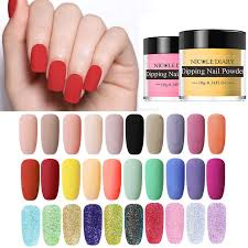 <b>NICOLE DIARY</b> Thermal <b>Dipping Nail Powder</b> Gradient Color ...