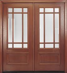 glass double door. Furniture Black Wooden Door With Glass Panel Using Silver Handle Plus Double Sidelite As Well Wood And Entry Doors B