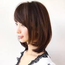 ミディアムストレートの髪型カタログいつの時代も誰にでも愛される