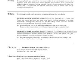 Cna Resume Sample With Experience Resume Sample Skills Resume Resume ...