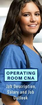 Operating Room Cna – Job Description, Salary And Job Outlook ...
