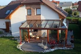 Small Picture Balcony or terrace glass conservatory Build on a beautiful