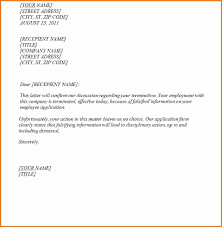 employment notice letter executive resume template sample termination letters to clients sample termination notice to