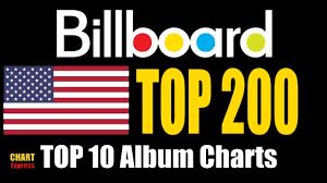 Billboard Top 200 Albums Top 10 June 23 2018 Chartexpress