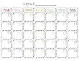 Printable Blank Monthly Calendar Free Printable Blank Monthly Calendar Tirevi Fontanacountryinn Com