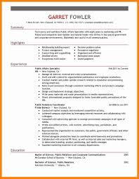 8 Government Resume Resume Type