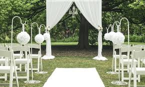 simple wedding decorations for outside outdoor wedding ceremony aisle ideas garden decorations tree outside remarkable