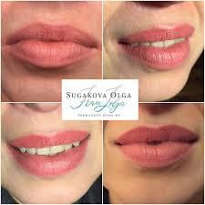 перманентный макияж губ в минске цены на татуаж губ