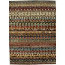 8 x 11 large saigon multi colored area rug enigma