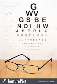 Are All Eye Exam Charts The Same Optometry An Eye Exam Chart Is Blurred In The Background Of A Pair Of Modern Eye Glasses