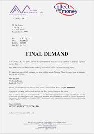 Demand Letter Format Payment New Sample Certification For Copy Of
