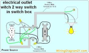 wiring outlet controlled by light switch wiring diagram show