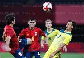 الان نتيجة مباراة اسبانيا واستراليا الاولمبي🔥 مجموعة مصر | ملخص وأهداف مباراة  اسبانيا واستراليا اليوم في أولمبياد طوكيو - كورة في العارضة