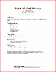 Resume For Housekeeping Job Format Room Attendant Supervisor Cover