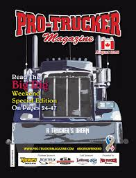 Howes Lighting North Bay Pro Trucker Magazine August 2018 Issue By Pro Trucker