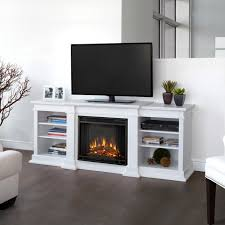 real flame fresno 71 inch electric fireplace entertainment center white g1200e w
