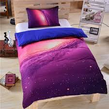 hipster galaxy bedding set universe outer space themed galaxy print bedlinen sheets twin single double full