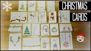 Diy Christmas Cards 20 Diy Christmas Card Ideas My Christmas Cards For 2015
