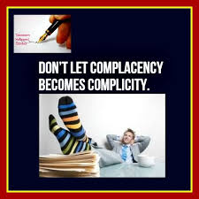 Complacency Safety Quotes Complacency and complicity TASNEEM HAMEED QUOTES Pinterest 12