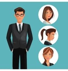 Employee Office Office Employee Vector Images Over 33 000