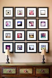 collage frames on wall how to easily create a photo frame collage wall display blog photo collage frames