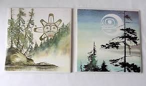 canadian artist wall tiles