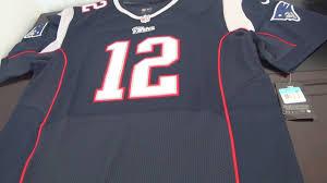 12 New Tom Brady England Patriots Review Jersey