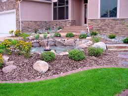 Xeriscape Front Yard Bedroom Cute Landscaping Ideas For Front Yard Design  Decors Home Improvement Xeriscape Sloped