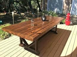 Rustic Wood Outdoor Furniture Idea Handmade Wooden Outdoor Furniture
