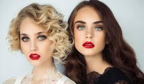 Bleach blonde to brunette