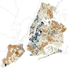 how new york s racial makeup has changed since 2000 map nytimes