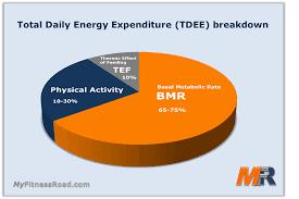 Activity Energy Expenditure Chart