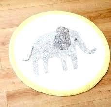 baby elephant rug for nursery crochet pattern