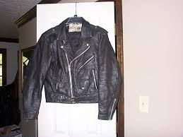 old school sea dream mens leather motorcycle jacket heavy chp style