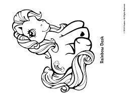 Small Picture Baby Rainbow Dash Coloring Pages Virtrencom